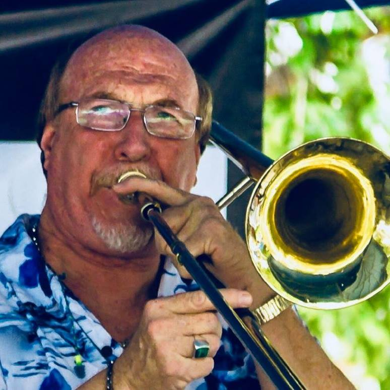 Michael Balogh, Musical Director and lead trombone
