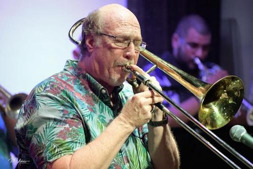 Michael Balogh, Musical Director and lead trombone.